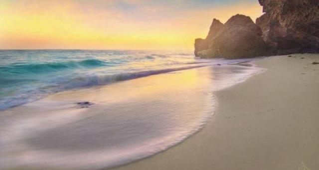 ساحل الفقوة في جزيرة فرسان في السعودية