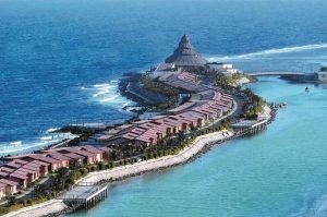 شاطئ المرجان جدة السعودية