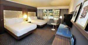 مساحات واسعة يُوفرها فندق هيلتون باريس لاديفانس في الغُرف