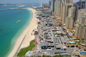 شاطئ الجي بي ار من أجمل شواطئ دبي