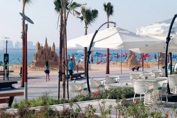 شارع الجي بي ار في دبي
