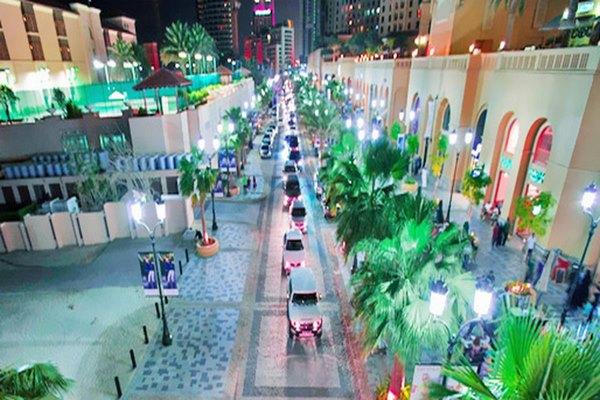 شارع الجي بي ار في دبي من أفضل شوراع دبي
