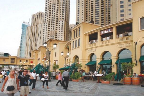 شارع الجي بي ار مدينة دبي