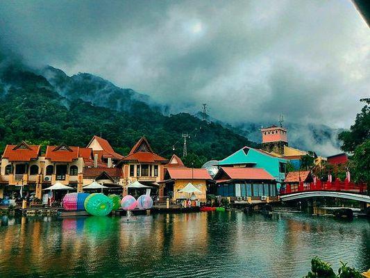 القرية الشرقية في لنكاوي ماليزيا