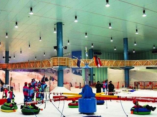 مدينة الثلج من افضل اماكن سياحية في الرياض للعائلات