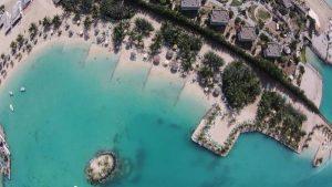 شاطئ الرمال الفضية في جدة