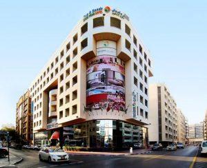 فندق الشمس والرمال داون تاون دبي