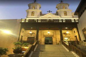 الكنيسة المعلقة في القاهرة من أفضل كنائس مصر