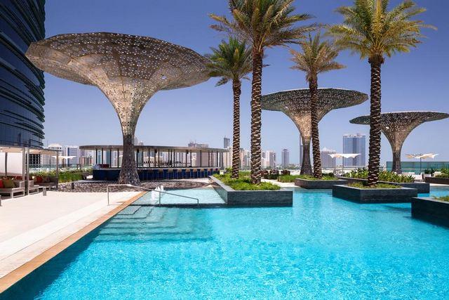 اجمل فنادق ابوظبي الامارات