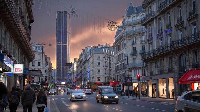 اشهر شوارع باريس