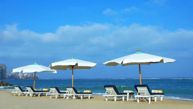 شاطئ المنتزه من افضل شواطئ الاسكندرية الخاصة