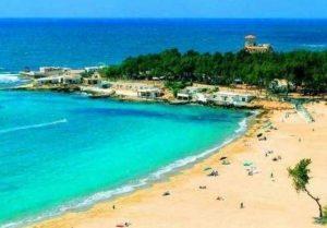 شاطئ المنتزه من اجمل شواطئ الاسكندرية