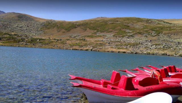 بحيرة السمك في طرابزون تركيا