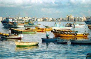 شاطئ كليوباترا في مدينة الاسكندرية