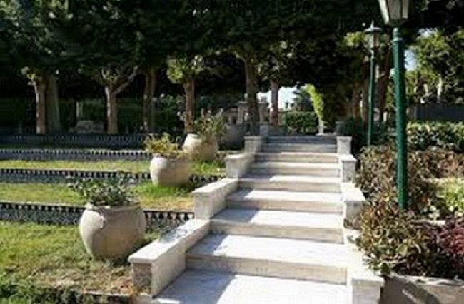 حديقة الاندلس بالقاهرة