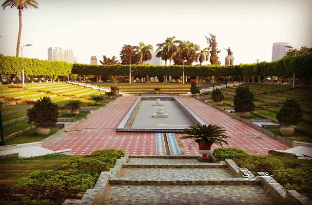 حديقة الاندلس بالزمالك