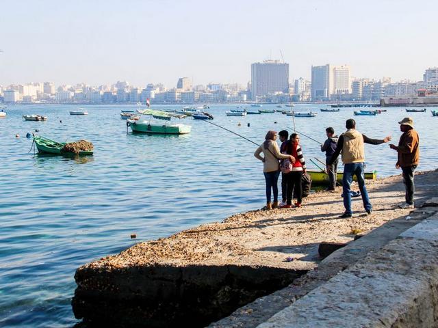 شاطئ جليم في مدينة الاسكندرية