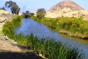 هرم هوارة بالفيوم من اماكن مصر السياحية