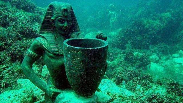 متحف الآثار الغارقة في الاسكندرية من متاحف الاسكندرية الفريدة من نوعها