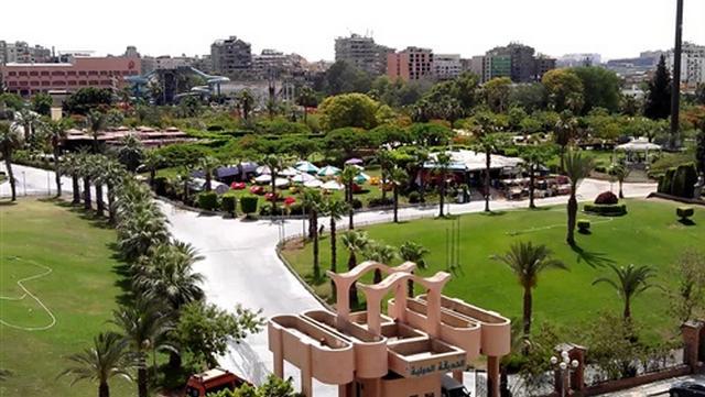 الحديقة الدولية واحدة من حدائق الاسكندرية الشهيرة