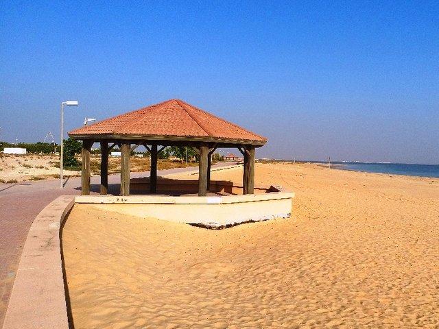 شواطئ الجبيل بالسعودية