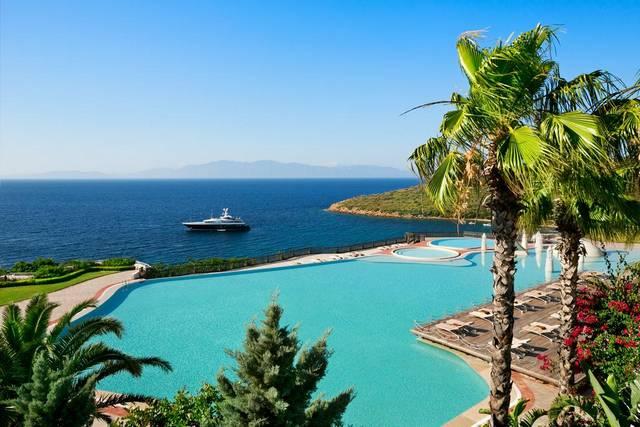 فندق كمبنسكي في بودروم تركيا
