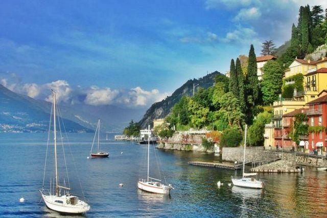 بحيرة كومو الايطاليا