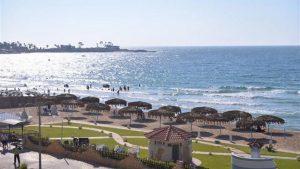 شاطئ المعمورة بالاسكندرية