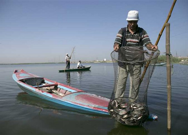 بحيرة مريوط بمدينة الاسكندرية