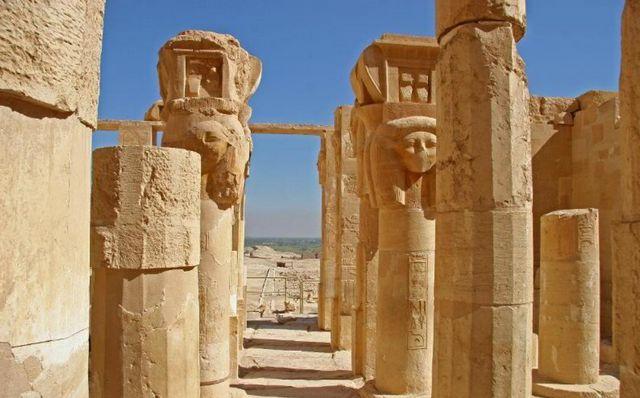 معبد حتشبسوت الاقصر مصر