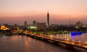 جسر قصر النيل في مصر القاهرة