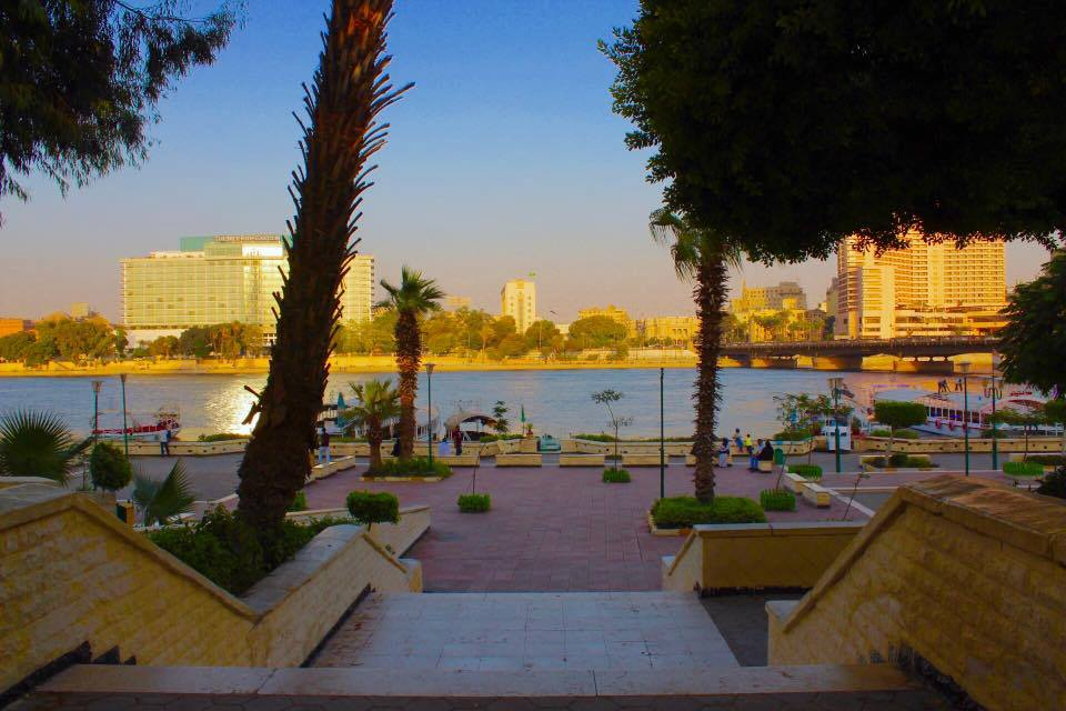 جسر قصر النيل القاهرة