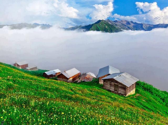 مرتفعات السلطان مراد من اجمل جبال طرابزون
