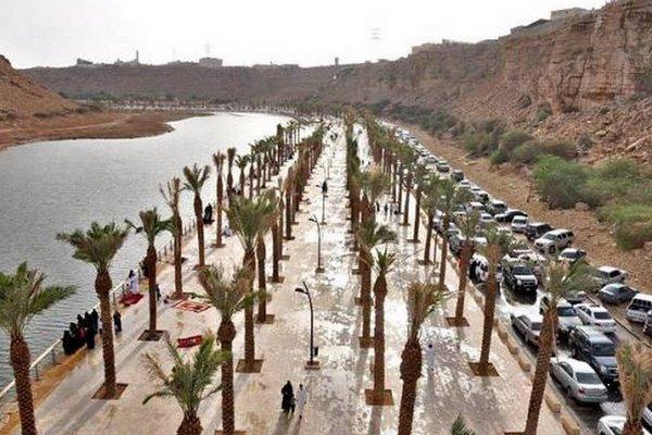 وادي نمار بمدينة الرياض