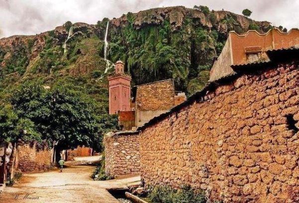 زاوية افران في المغرب