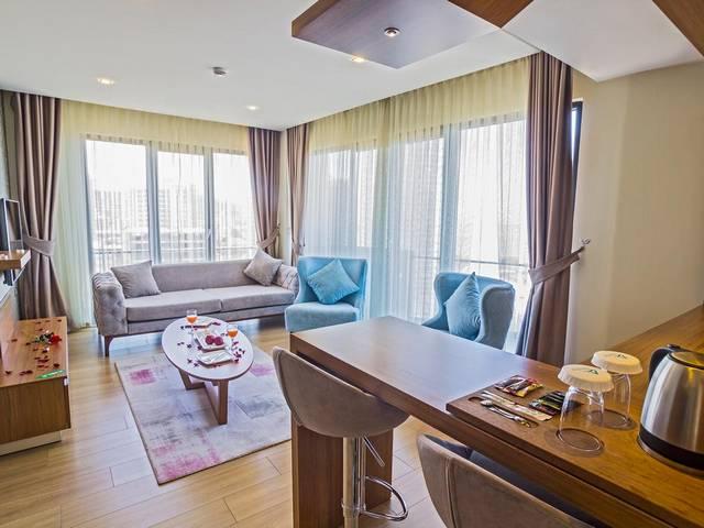 مواصفات فندق اليشا سويت في طرابزون التركية