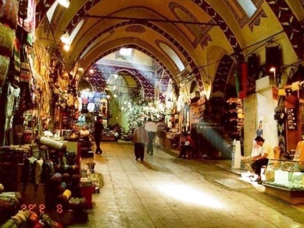 انشطة في سوق بداستان في طرابزون