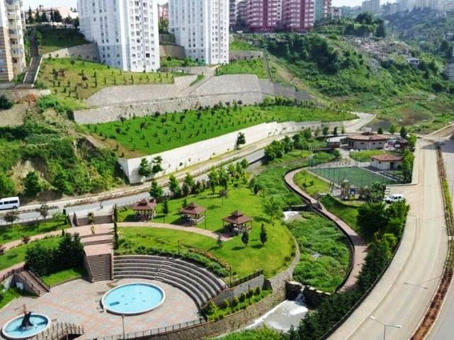 حديقة زاغنوس طرابزون تركيا