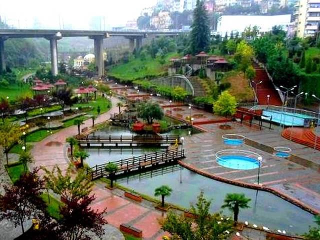 حديقة زاغنوس في طرابزون تركيا