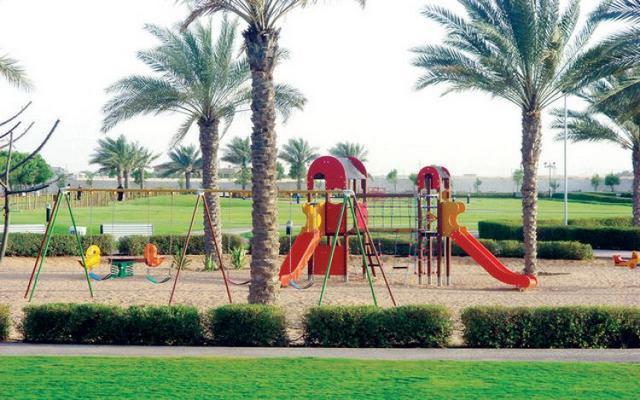 حديقة الحميددية من اشهر حدائق عجمان
