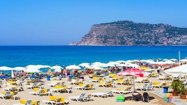 شواطئ الانيا في انطاليا