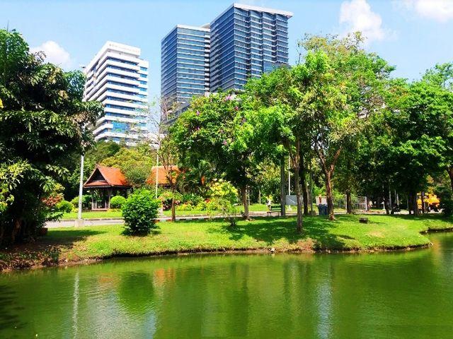 حدائق في بانكوك