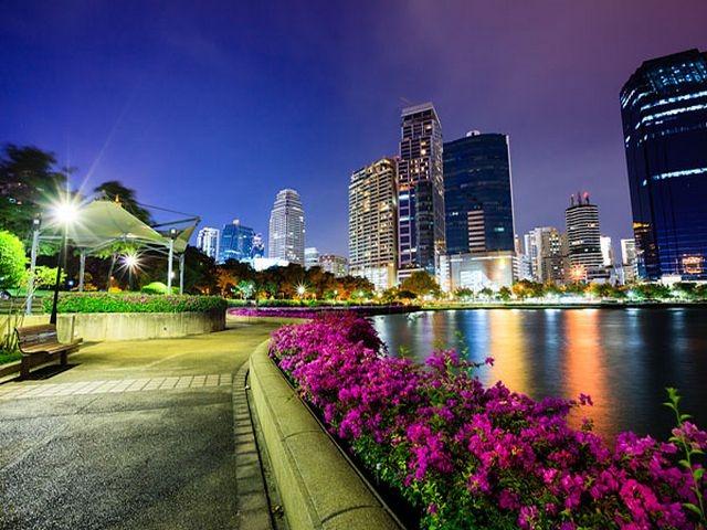 حدائق في بانكوك تايلاند