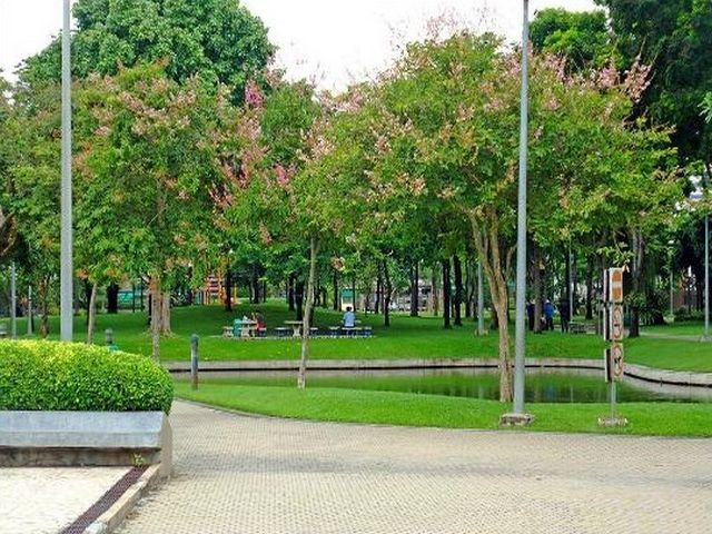 حدائق في بانكوك في تايلاند