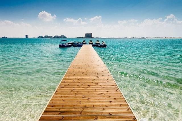 جزيرة المرجان راس الخيمة الامارات