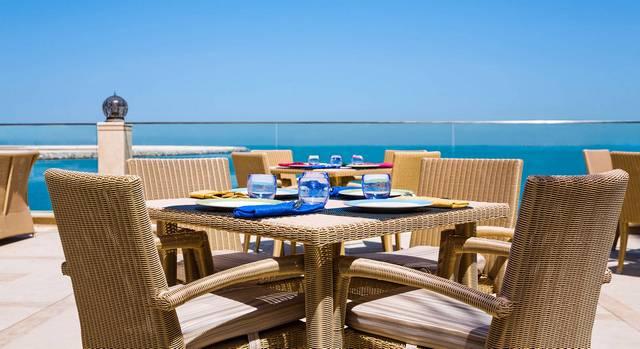مطاعم جزيرة المرجان راس الخيمة