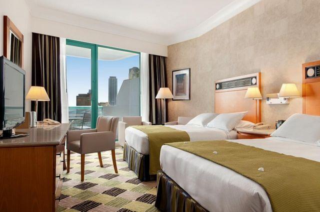 غرف فندق هيلتون دبي جميرا