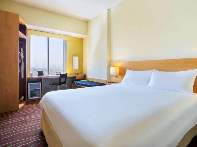 تُعد غرف فندق ايبس ديرة دبي واسعة ونظيفة