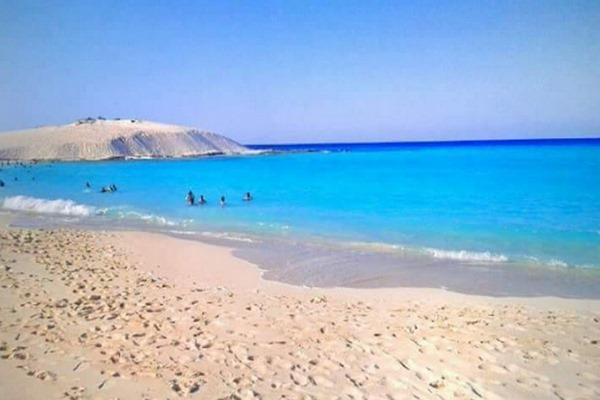 شاطئ الجونه في مرسى مطروح