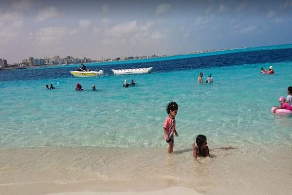 شاطئ مبارك مدينة مرسى مطروح